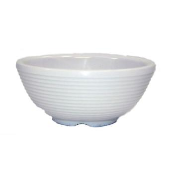 TABRAM3RB - Tablecraft - RAM3RB - 3 oz Bone Ribbed Ramekin Product Image