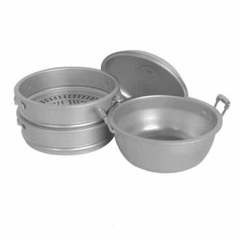 THGALST006 - Thunder Group - ALST006 - 13 in Large Hole Aluminum Steamer Set Product Image