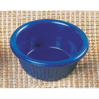 THGML509CB - Thunder Group - ML509CB1 - 2 7/8 in - 2 oz Cobalt Blue Fluted Ramekin Product Image