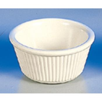 THGML531B - Thunder Group - ML531B1 - 3 1/4 in - 3 oz Bone Fluted Ramekin Product Image