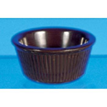 THGML531C - Thunder Group - ML531C1 - 3 1/4 in - 3 oz Chocolate Fluted Ramekin Product Image