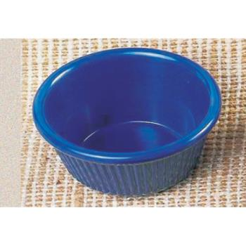 "THGML533CB - Thunder Group - ML533CB - 3 3/8""- 3 oz. Cobalt Blue Fluted Ramekin  Product Image"