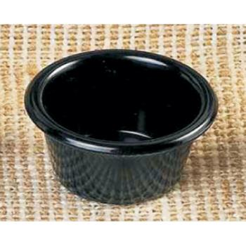 THGML535BL - Thunder Group - ML535BL1 - 2 1/2 in - 2 oz Black Smooth Ramekin Product Image
