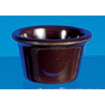 "THGML535C - Thunder Group - ML535C - 2 1/2""- 2 oz. Chocolate Smooth Ramekin  Product Image"