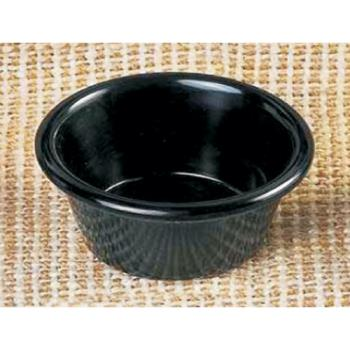 THGML536BL - Thunder Group - ML536BL1 - 2 7/8 in - 2 oz Black Smooth Ramekin Product Image