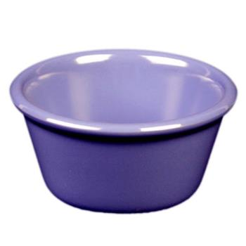 "THGML536BU - Thunder Group - ML536BU - 2 7/8""- 2 oz. Blue Smooth Ramekin Product Image"