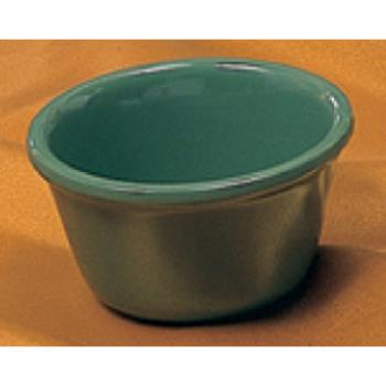 "THGML536GR - Thunder Group - ML536GR - 2 7/8"" 2 oz. Green Smooth Ramekin   Product Image"