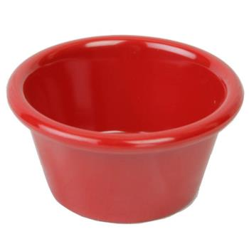 THGML536PR - Thunder Group - ML536PR1 - 2 oz Pure Red Smooth Ramekin Product Image