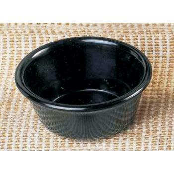 THGML538BL - Thunder Group - ML538BL1 - 3 3/8 in - 4 oz Black Smooth Ramekin Product Image