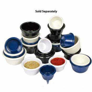 WINRFM2B - Winco - RFM-2B - 2 Oz Fluted Bone Ramekin Product Image