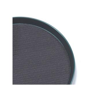 AMMBTTL13 - American Metalcraft - BTTL13 - 13 in Round Black Bar Tray Liner Product Image