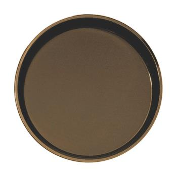 CAM1100CT138 - Cambro - 1100CT138 - Camtread 11 in Round Tan Serving Tray Product Image