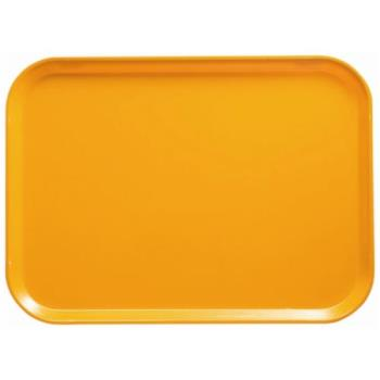 75210 - Cambro - 1418504 - 14 in x 18 in Mustard Yellow Camtray® Product Image