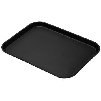 CAM1418CT110 - Cambro - 1418CT110 - Camtread® 14 in x 18 in Black Serving Tray Product Image