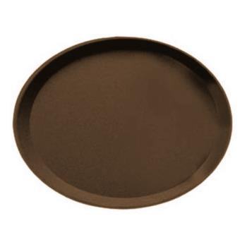 CAM2900CT138 - Cambro - 2900CT - Camtread 29 in x 23 in Oval Tan Serving Tray Product Image