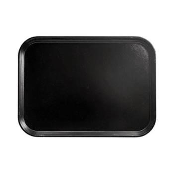 76411 - Cambro - PT1216110 - 12 in x 16 in Black Polytread® Fast Food Tray Product Image