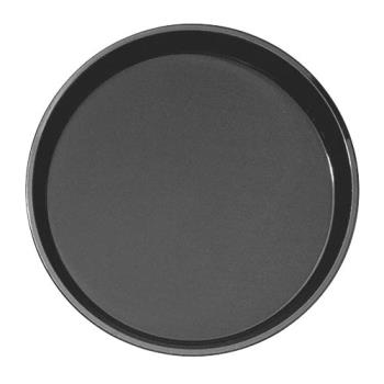 75321 - Cambro - PT1400110 - 14 in Round Black Polytread® Serving Tray Product Image