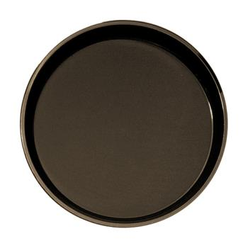 CAMPT1400167 - Cambro - PT1400167 - 14 in Round Brown Polytread® Serving Tray Product Image