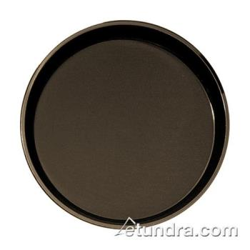 75323 - Cambro - PT1600167 - Polytread 16 in Round Brown Serving Tray Product Image