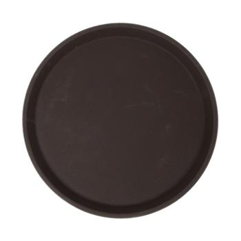 86359 - Carlisle - 1100GL076 - GripLite® 11 in Round Tan Serving Tray Product Image