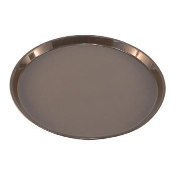 86360 - Carlisle - 1400GL076 - GripLite® 14 in Round Tan Serving Tray Product Image