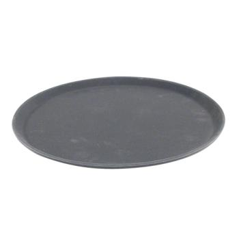 86366 - Carlisle - 1400GR004 - 14 in Griptite™ Round Black Serving Tray Product Image