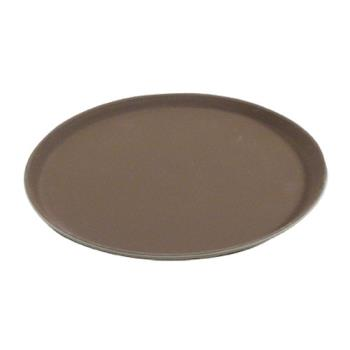 86362 - Carlisle - 1400GR076 - Griptite™ 14 in Round Tan Serving Tray Product Image