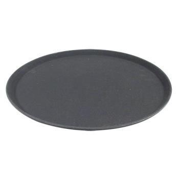 86367 - Carlisle - 1600GR2004 - 16 in Griptite™ 2 Round Black Serving Tray Product Image