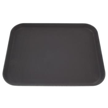 76398 - Carlisle - 1814GR004 - 14 in x 18 in Griptite™ Rectangular Black Serving Tray Product Image