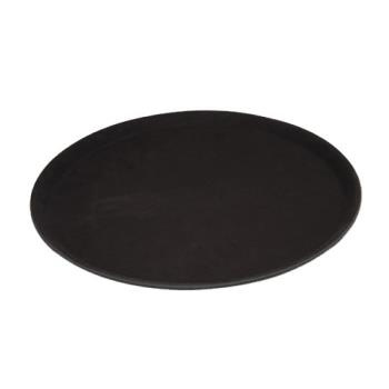 WINTRH14K - Winco - TRH-14K - 14 in Round Black Serving Tray Product Image