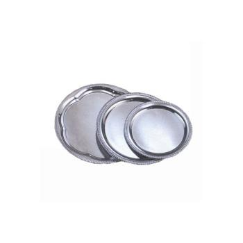 AMMSTRD210 - American Metalcraft - STRD210 - Affordable Elegance™ 10 in Round Chrome Tray Product Image