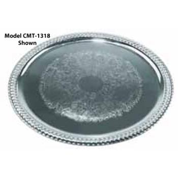 WINCMT1014 - Winco - CMT-1014 - 14 3/4 in x 10 1/2 in Oval Serving Tray Product Image