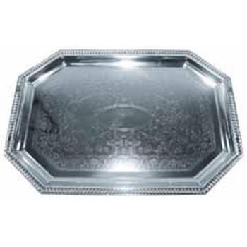WINCMT1217 - Winco - CMT-1217 - 17 in x 12 1/2 in Octagon Serving Tray Product Image