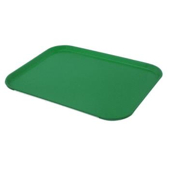 58448 - Cambro - 1418FF119 - 14 in x 18 in Sherwood Green Fast Food Tray Product Image
