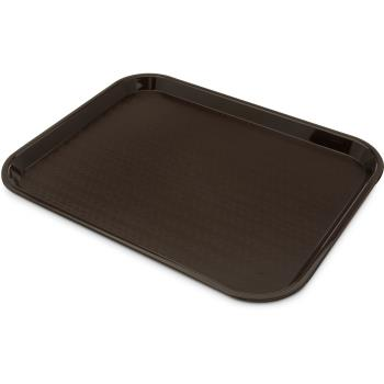 86373 - Carlisle - CT141869 - 18 in x 14 in Brown Cafe Tray Product Image