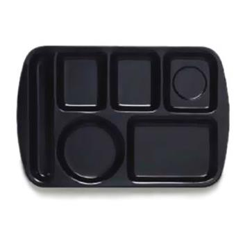 GETTL151BK - GET Enterprises - TL-151-BK - 14 3/4 in x 9 1/2 in Black Cafeteria Tray Product Image