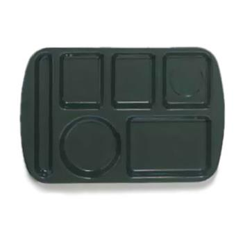 GETTL151HG - GET Enterprises - TL-151-HG - 14 3/4 in x 9 1/2 in Hunter Green Cafeteria Tray Product Image