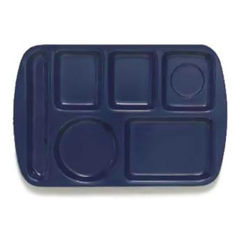 GETTL151NB - GET Enterprises - TL-151-NB - 14 3/4 in x 9 1/2 in Navy Blue Cafeteria Tray Product Image
