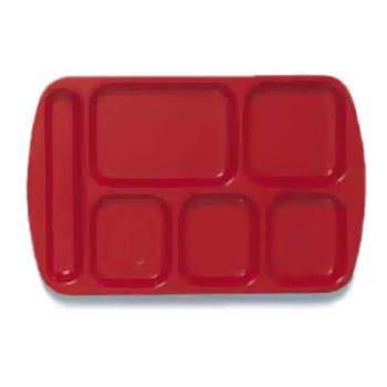 GETTL151R - GET Enterprises - TL-151-R - 14 3/4 in x 9 1/2 in Red Cafeteria Tray Product Image