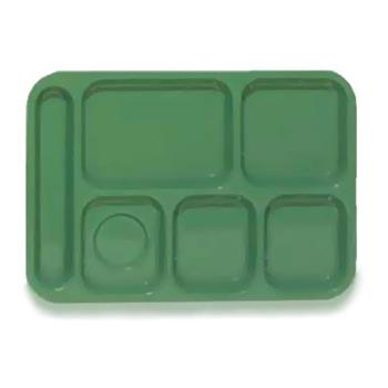 GETTL152FG - GET Enterprises - TL-152-FG - 10 in x 14 in Forest Green Cafeteria Tray Product Image