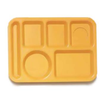 GETTL152TY - GET Enterprises - TL-152-TY - 10 in x 14 in Tropical Yellow Cafeteria Tray Product Image