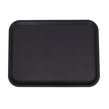 78659 - Update - FFT-1216BK - 12 x 16 In Black Fast Food Tray Product Image