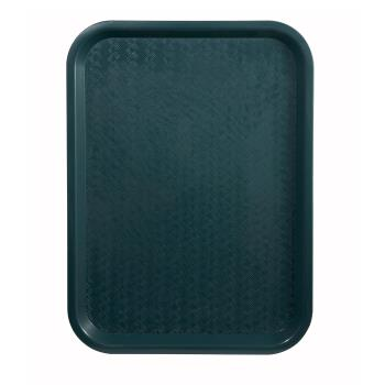 WINFFT1014G - Winco - FFT-1014G - 10 in x 14 in Green Fast Food Tray Product Image