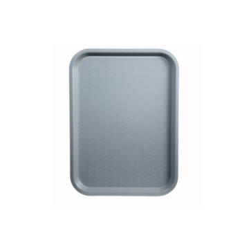 WINFFT1216E - Winco - FFT-1216E - 12 in x 16 in Gray Fast Food Tray Product Image