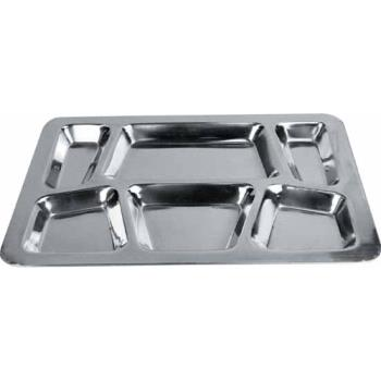 WINSMT2 - Winco - SMT-2 - 15 1/2 in x 11 1/2 in Stainless Steel Cafeteria Tray Product Image