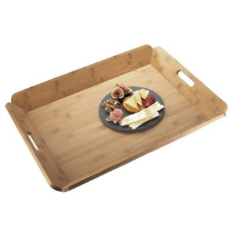 CLM958160 - Cal-Mil - 958-1-60 - 22 1/2 in x 17 in Bamboo Room Service Tray Product Image