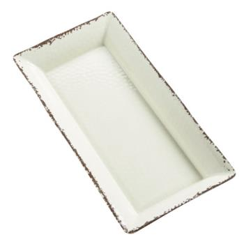 AMMAWMEL23 - American Metalcraft - AWMEL23 - 18 in x 8 1/4 in Antique White Platter Product Image