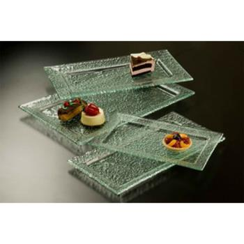 AMMBG159 - American Metalcraft - BG159 - Glacier 15 in x 9 in Glass Platter Product Image