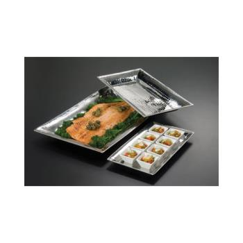 AMMHMRT814 - American Metalcraft - HMRT814 - 14 1/8 in x 7 3/8 in   Stainless Steel Tray Product Image