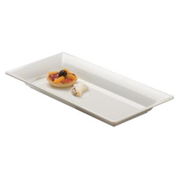 AMMMEL23 - American Metalcraft - MEL23 - 18 in x 8 1/4 in White Endurance™ Platter Product Image